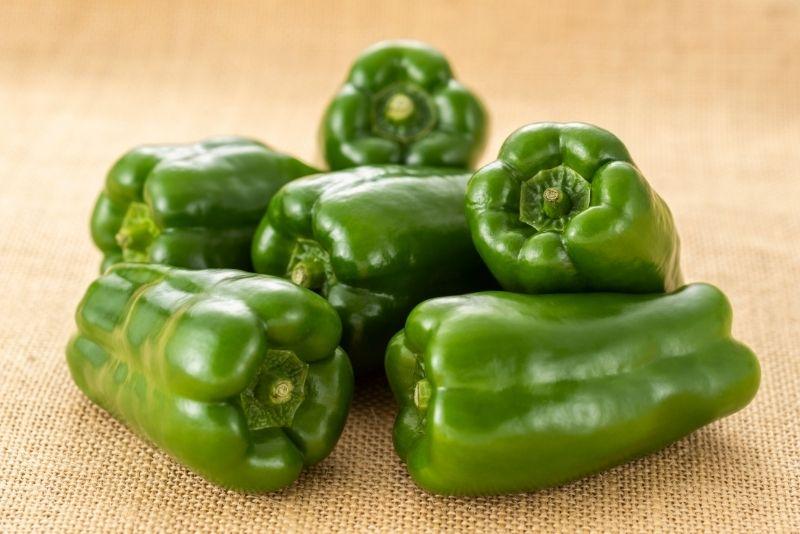 Green Pepper Substitutes