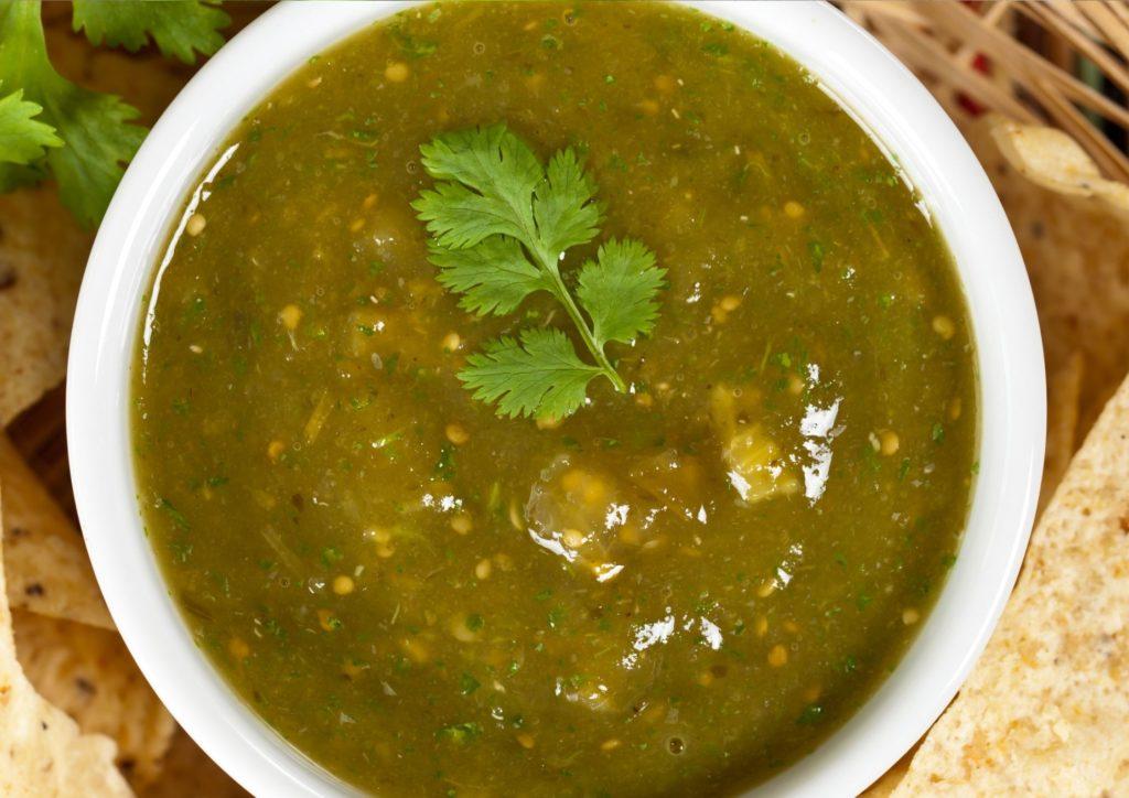 Homemade Salsa Verde Sauce