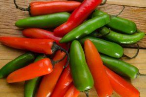 Serrano Pepper Substitutes