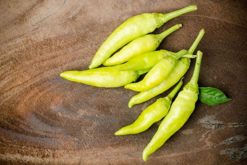 Green Chilies Substitutes